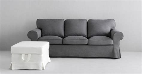 white ikea 3 seater sofa ikea 3 seater sofa stocksund three seat sofa nolhaga dark