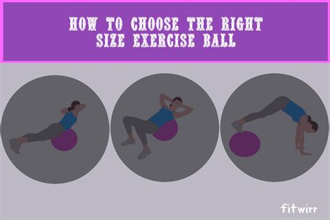 how to choose the right how to choose and use the right size exercise