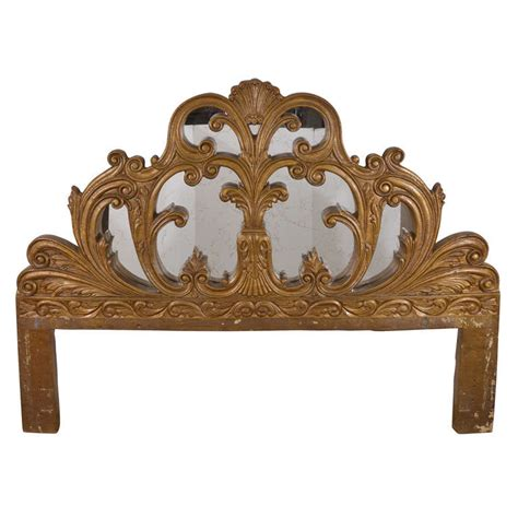 baroque headboard king size stylized italian baroque revival headboard at