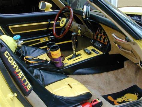 Custom Corvette Interior by 1977 Chevrolet Corvette Pictures Cargurus