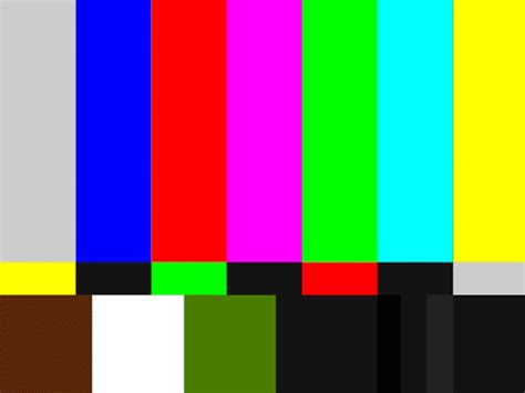 tv colors color bars