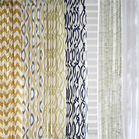 West Elm Zigzag Curtain Inspiration Cotton Canvas Zigzag Curtain Maize West Elm