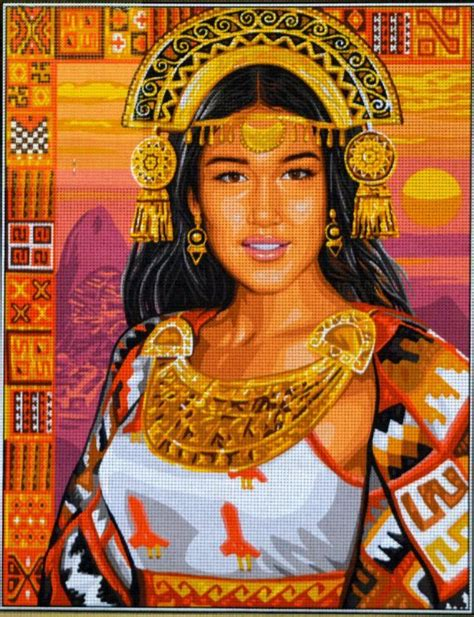 Tapisserie Princesse by Princesse Inca Sted Needlepoint Canvas 142 503