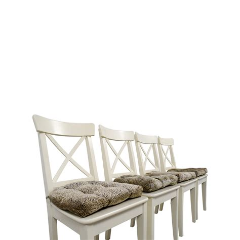 ikea ingolf bench 58 off ikea ikea ingolf chair with cushions chairs