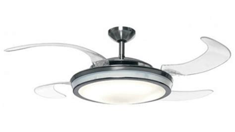 retractable blade ceiling fan with light retractable ceiling fan with light evo1 prevail from