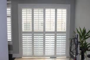 Shutter Blinds For Patio Doors Patio Door Pc Shutters In Canada