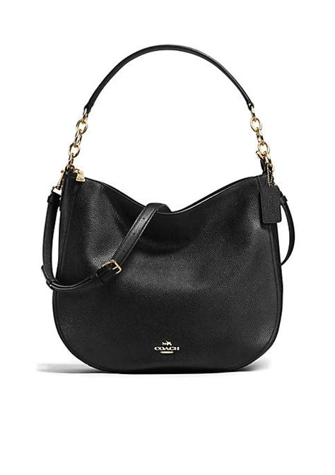 Coach Chelsea Patchwork Large Hobo by Coach Chelsea Hobo 32 In Polished Pebble Leather Belk