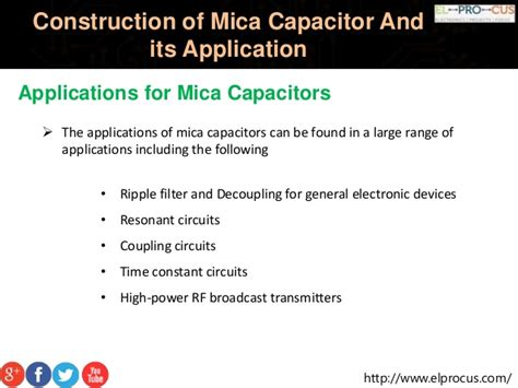 what is capacitor and its application construction of mica capacitor and its application