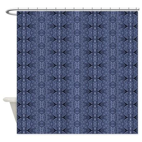 denim shower curtain blue denim shower curtain by fan2fan