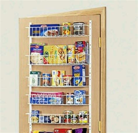 Closet Door Storage Racks Wire Rack Adjustable 72 Quot H 18 Quot W Closet Organizer Wall Back Of Door Rack Pantry Ebay