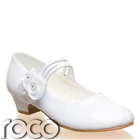 white shoes communion shoes prom shoes flower