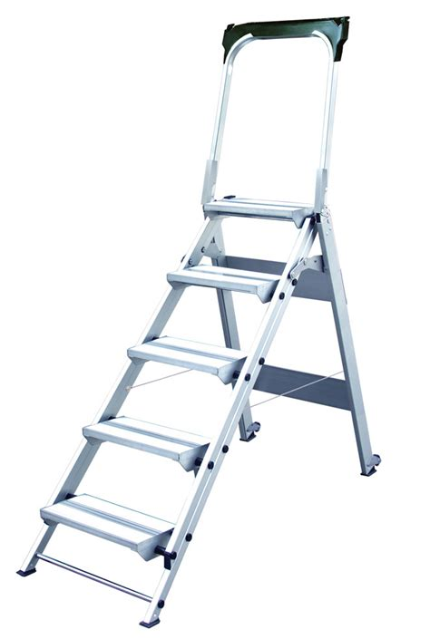 Safety Step Stool by Xtend Climb Wt5 5 Step Folding Safety Step Stool With