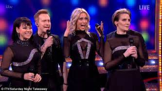 steps singer claire richards shows amazing new figure steps reunite to perform on saturday night takeaway