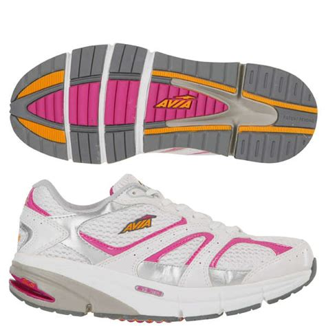 Avia Grey Pink avia s a9999w athletic shoes white grey pink