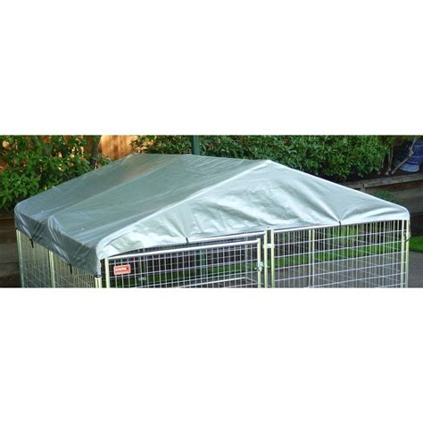 10x10 kennel tractor supply lucky weatherguard kennel cover with frame 10 l x 10 w
