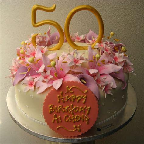 50th birthday cake ideas for women elegant 50th birthday cakes for women