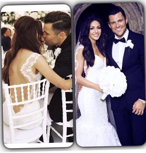 michelle keegan wedding dress revealed mark wright shares image gallery hello mark and michelle