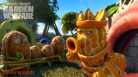 plants vs zombies garden warfare aquafina characters