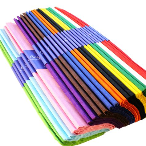 With Crepe Paper - crepe paper assorted 12 or 25 packs bright ideas crafts