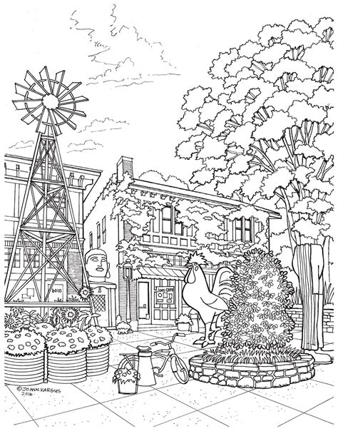 coloring pages for adults architecture new adult coloring book shows the beauty of st louis