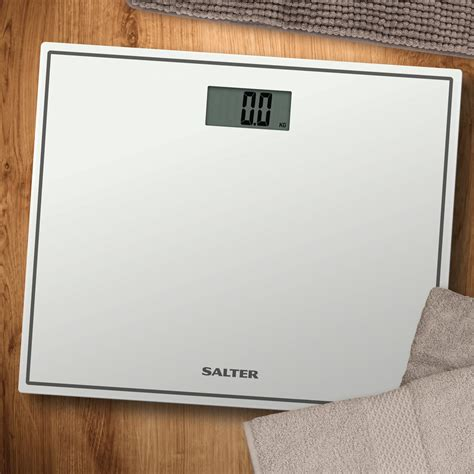 how to use salter bathroom scales salter 9207 wh3r compact glass electronic bath scale