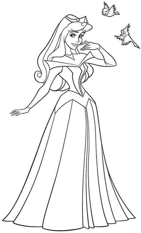 preschool coloring pages princess disney princess sleeping colouring pages