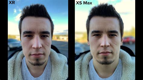 camera comparison   iphone xrs single camera