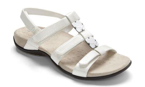 vionic w orthaheel technology womens sandals navy croc size 8 wide ebay