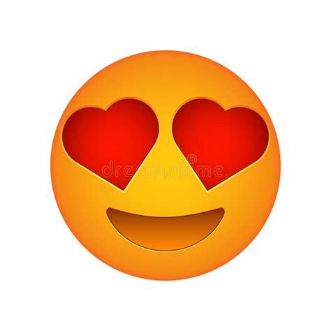 imagenes emoji de amor love emoji face love emotion icon stock vector