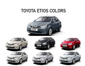 toyota colors toyota etios colors white grey silver black