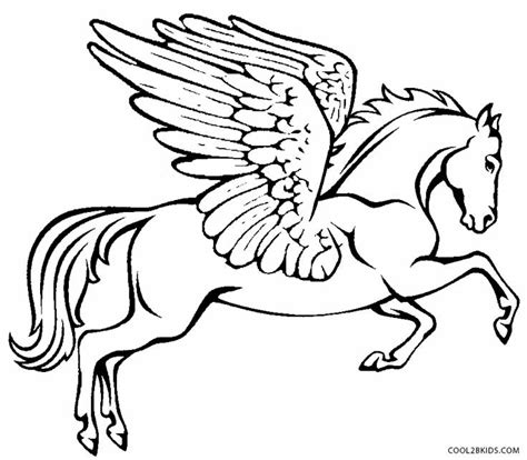 Printable Pegasus Coloring Pages For Kids Cool2bkids Pegasus Coloring Pages