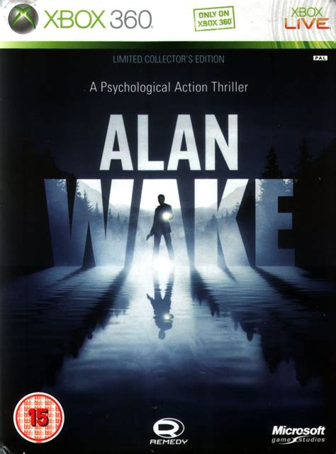 alan walker xbox 360 alan wake limited collector s edition 2010 xbox 360