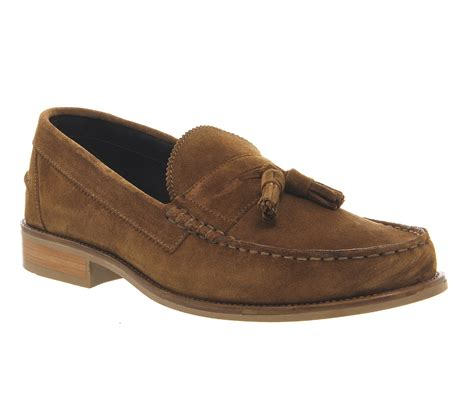 ask the missus loafers mens ask the missus bonjourno tassel loafer rust suede