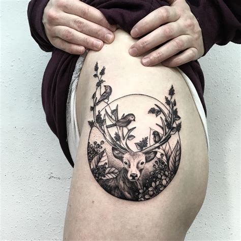 tattoo design rules 15 stunning deer designs entertainmentmesh