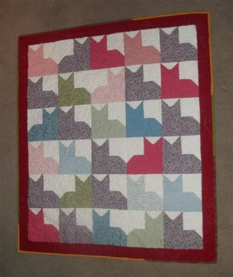 Quilted Pin Board by Pins And Paws Quilt