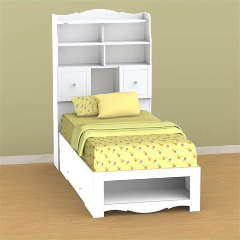 white bookcase headboard twin nexera pixel twin tall bookcase white headboard