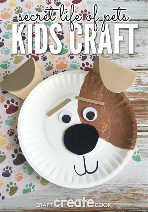 the secret life of pets craft dog house free printable best 25 puppy crafts ideas on pinterest cards diy diy