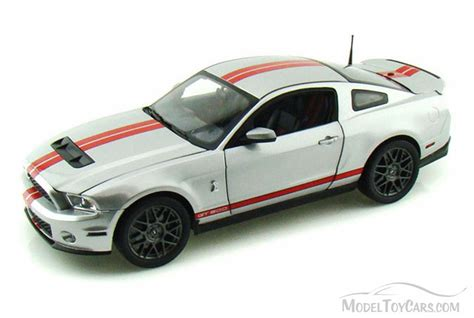 Ford 2011 Car Model In Scale 1 18 Purple 1 2011 ford shelby gt500 silver w stripes shelby sc368 1 18 scale diecast model car