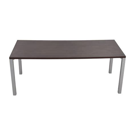 steelcase currency martin desk brown silver coupon