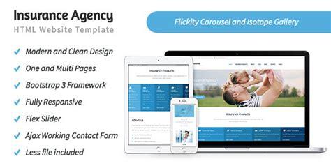 custom website design insurance templates custom website intended