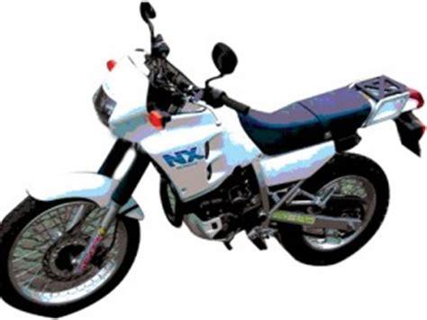 Honda Nx250 Nx 250 Dominator Manual