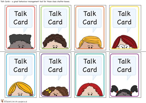 cards for classroom s pet talk cards free classroom display