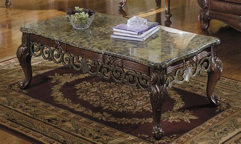 furniture sturdy coffee table decoration with granite