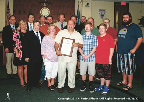 larry swing lynbrook honors its man and woman of the year herald