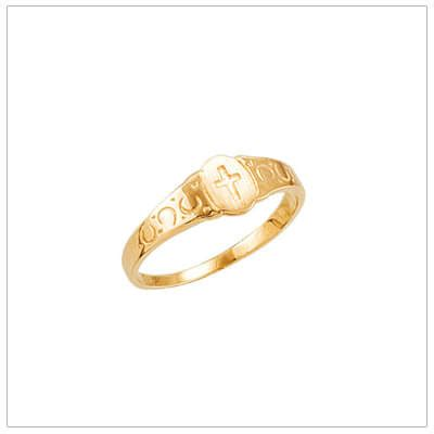 Chil Kid Gold baby rings and children s rings