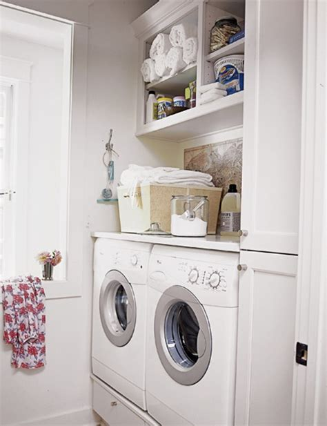 Small Laundry Room Storage 20 Small Laundry Room Ideas White And Clean Solutions Home Design And Interior