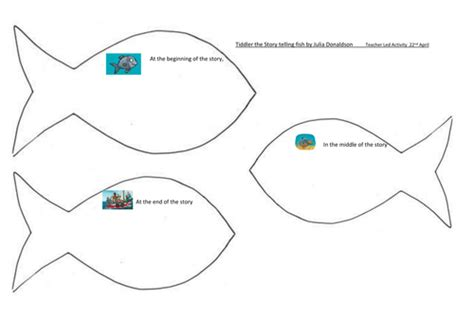 tes new year story resources tiddler the story telling fish by donaldson by