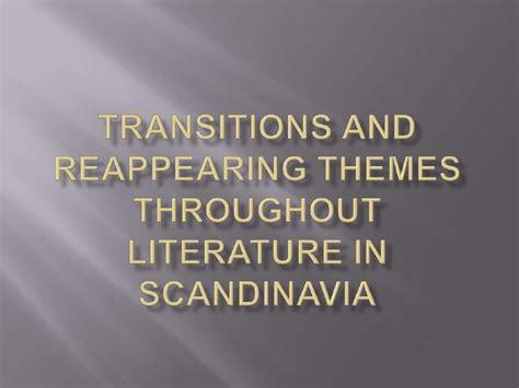 theme in literature slideshare literature