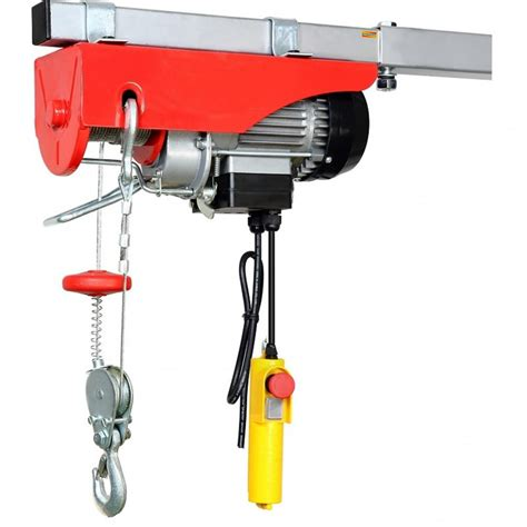 Electric Hoist Garage by Dynatex Scaffold Winch Electric Workshop Garage Gantry