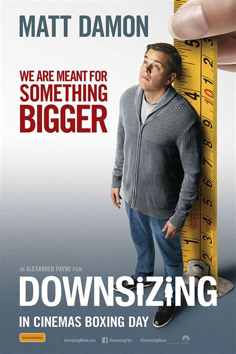 downsizing film downsizing film review everywhere